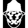 Rorschach's Mask Symbol Icon