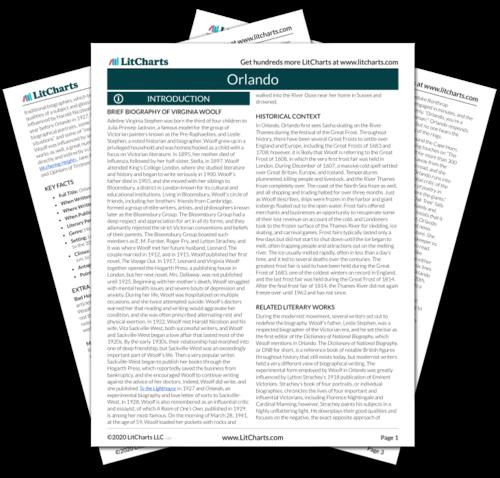 Orlando Chapter 2 Summary Analysis Litcharts