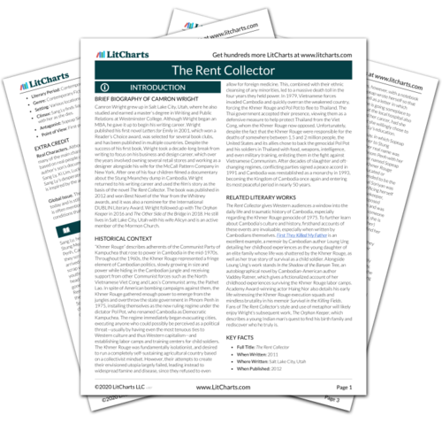 The Rent Collector Study Guide from LitCharts | The creators