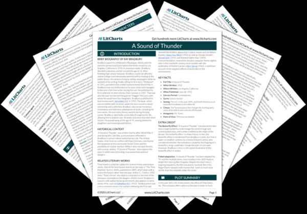 A Sound of Thunder PDF