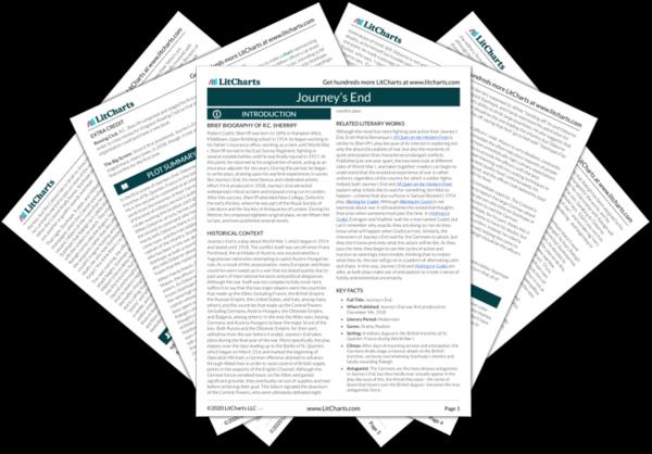 Journey's End PDF