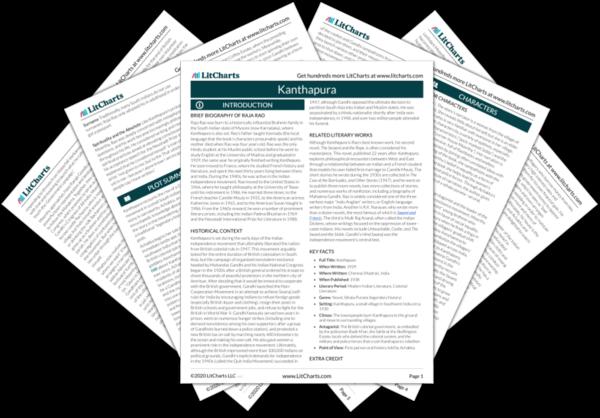 Kanthapura PDF