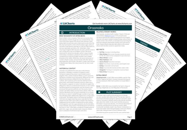 oroonoko summary from the creators of sparknotes oroonoko pdf medium