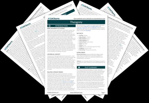 Theogony PDF
