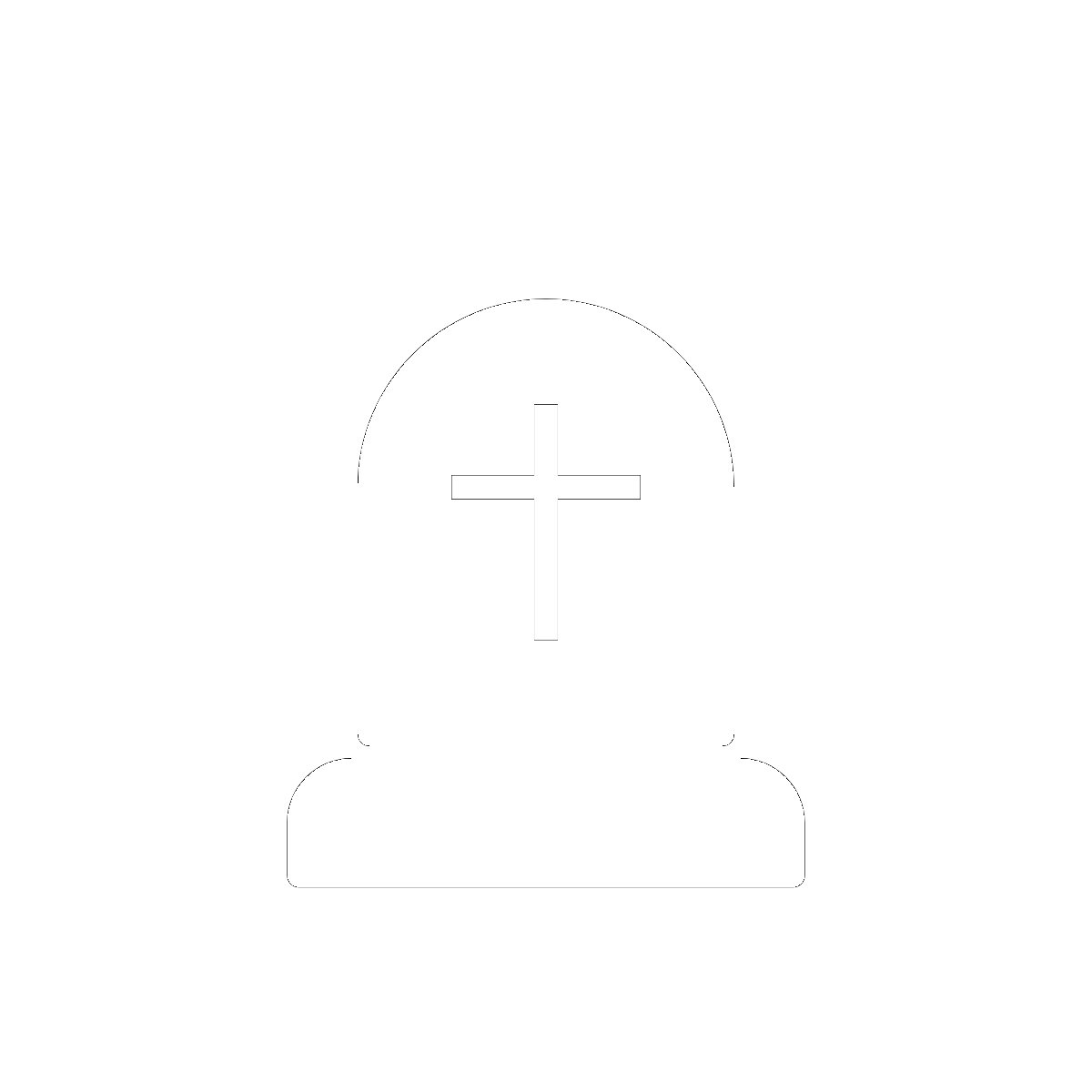 Symbol Graves and Tombstones