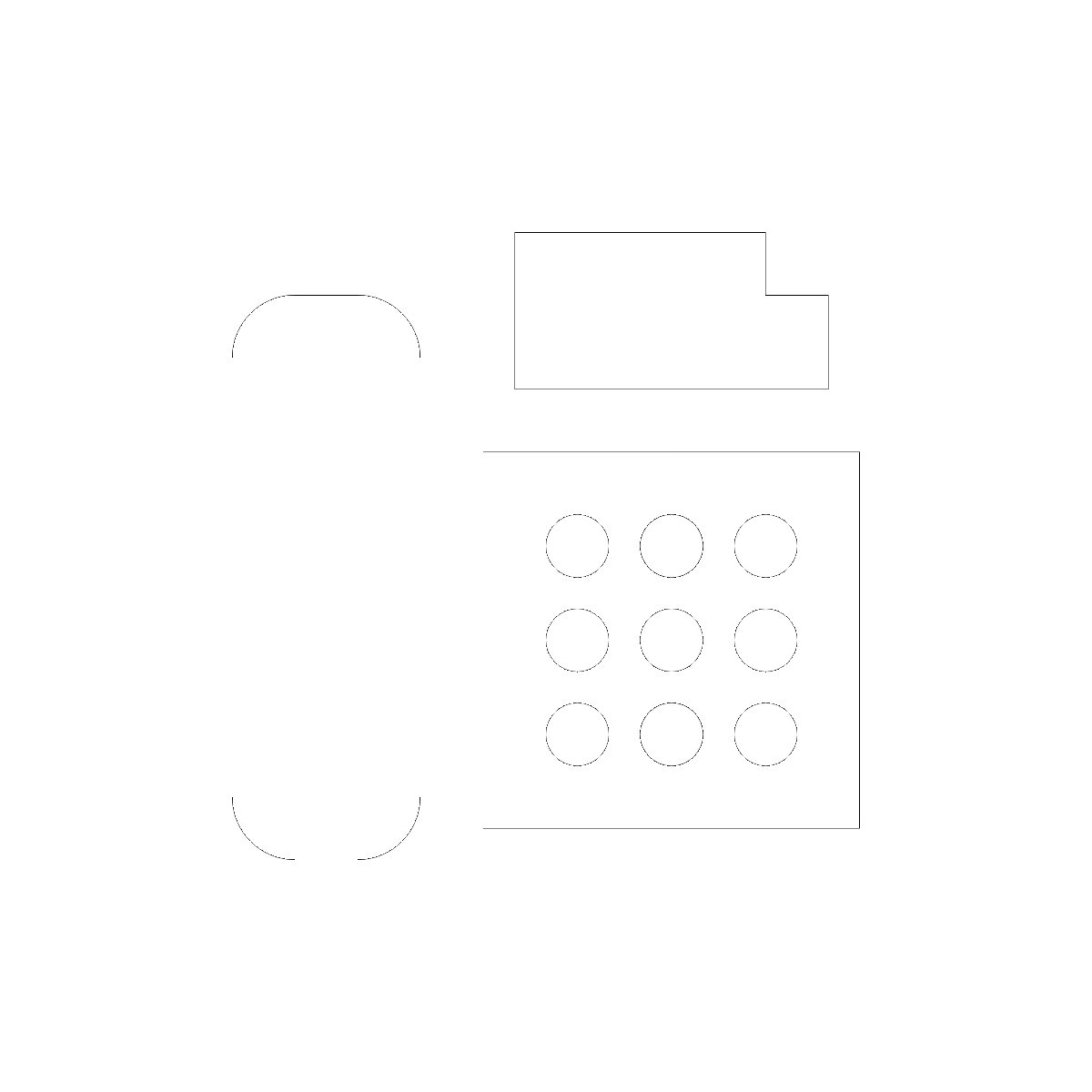 Symbol Compact Disks and Faxes