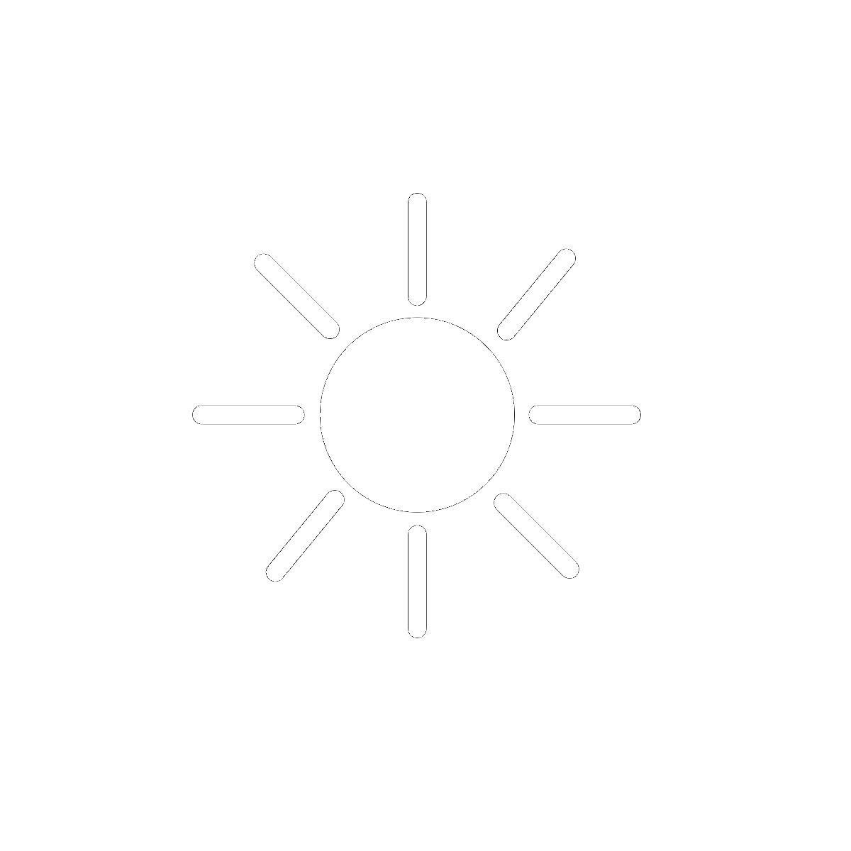 Symbol The Sun and the Sky