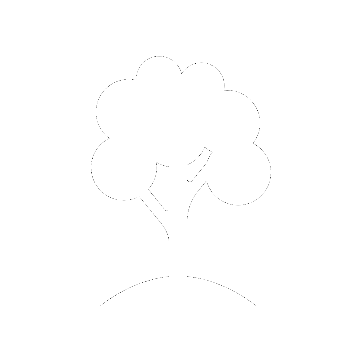 Symbol The Black Walnut Tree