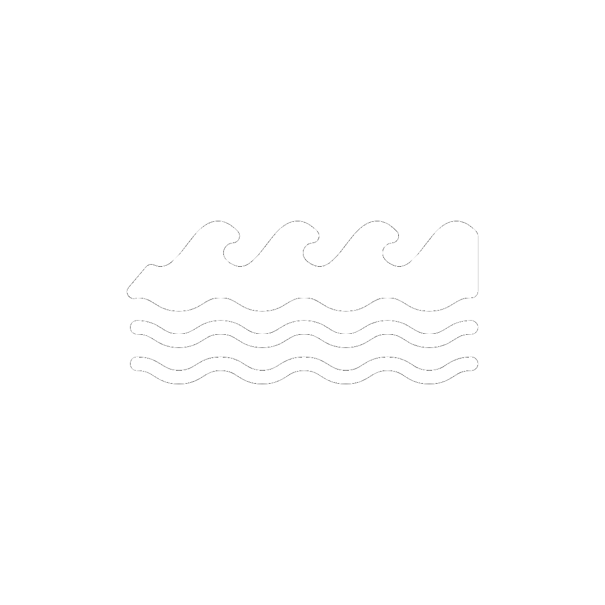 Symbol Oceans and Rivers