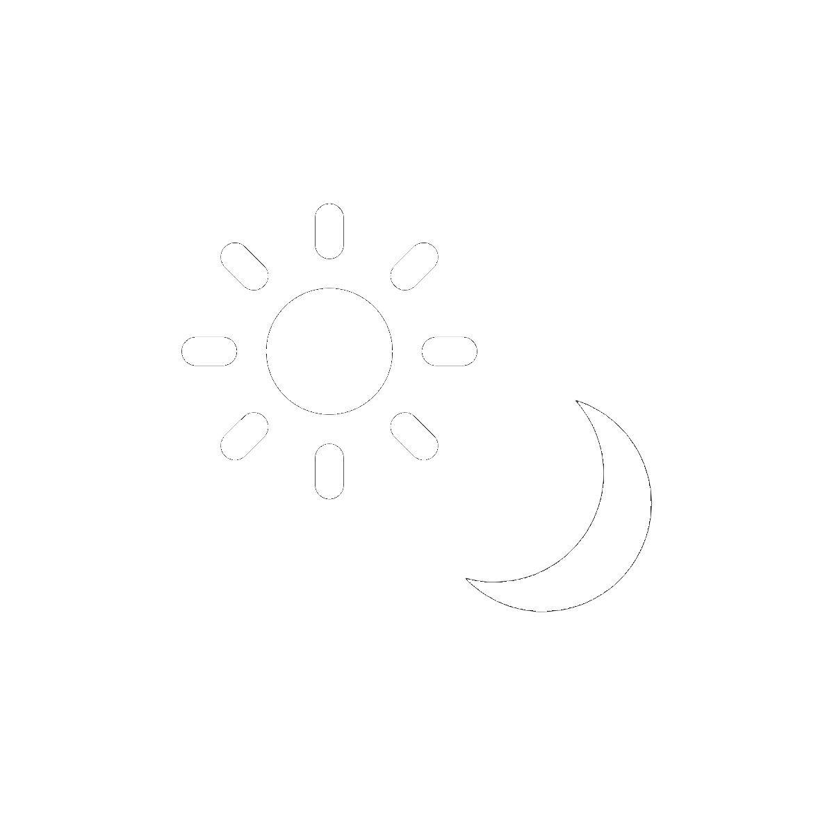 Symbol The Sun and Moon