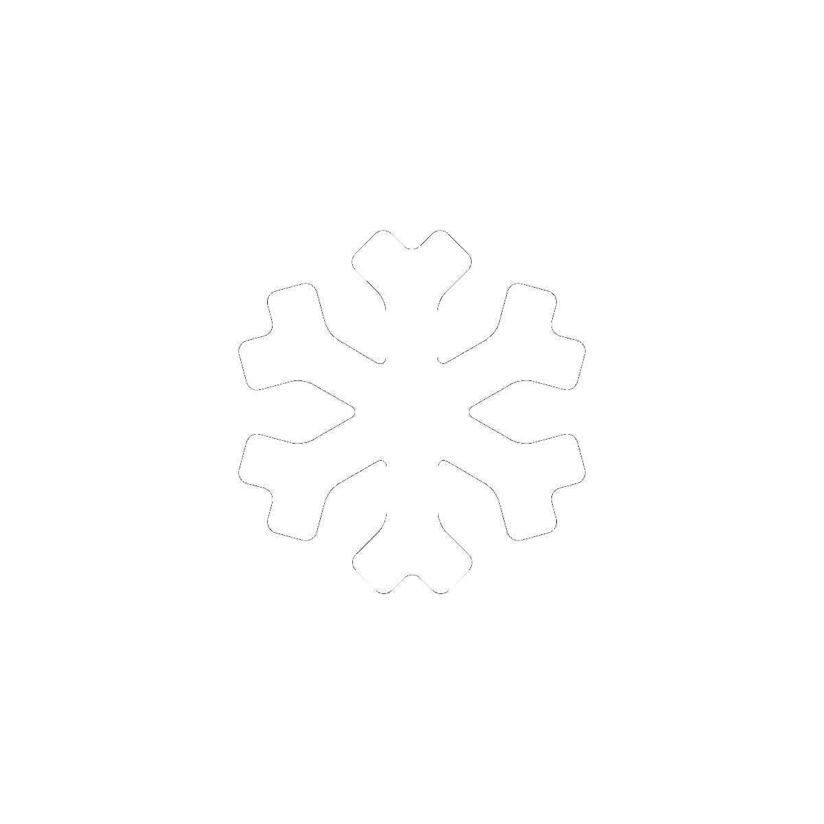 Symbol Winter and Coldness