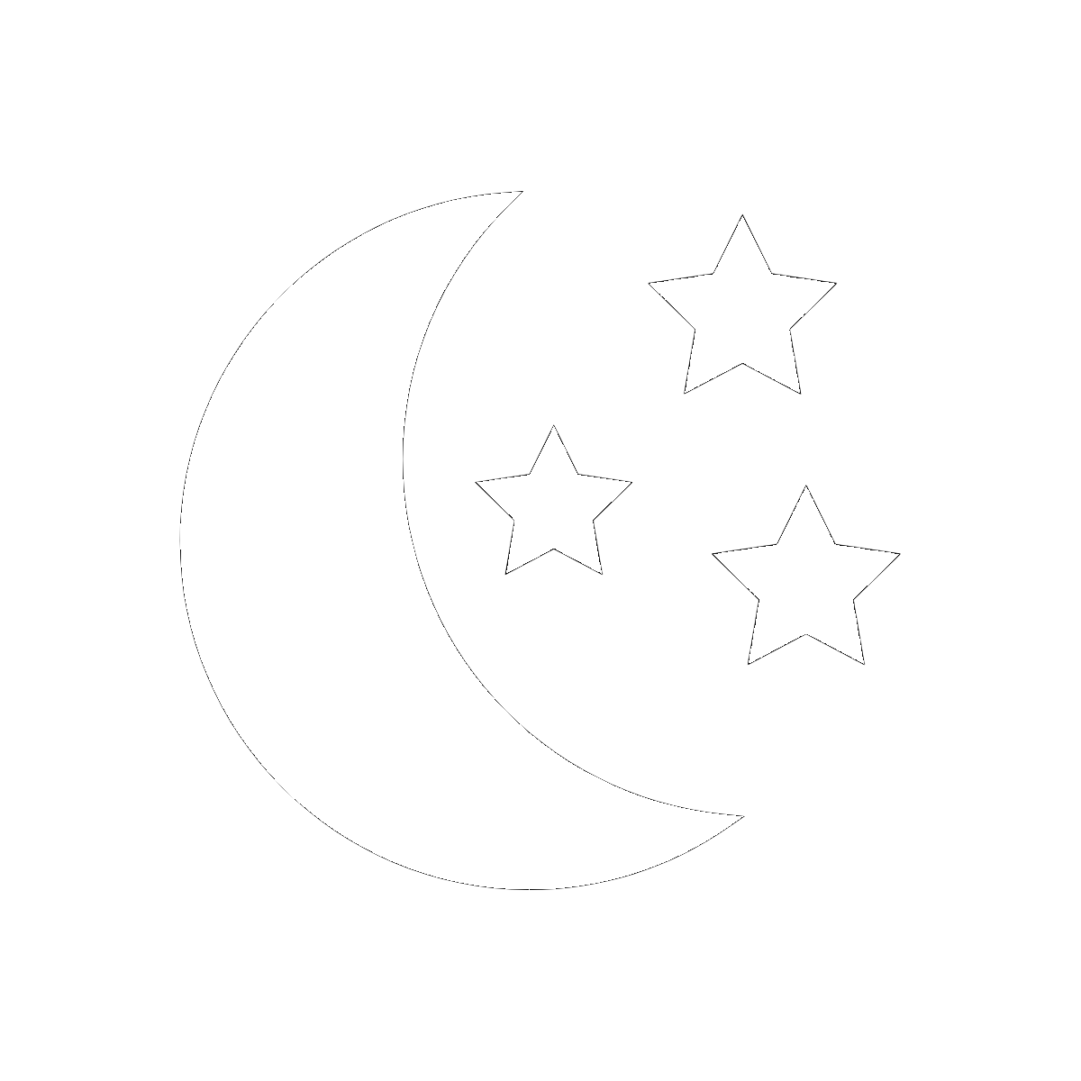 Symbol The Moon and Stars