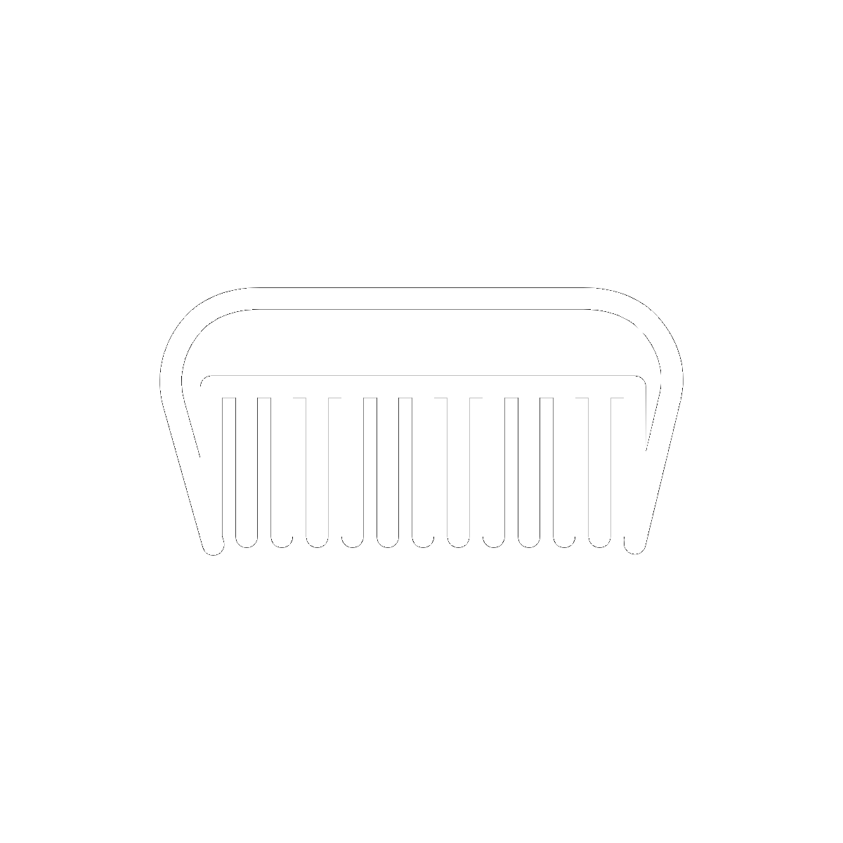 Symbol The Fine-Tooth Comb