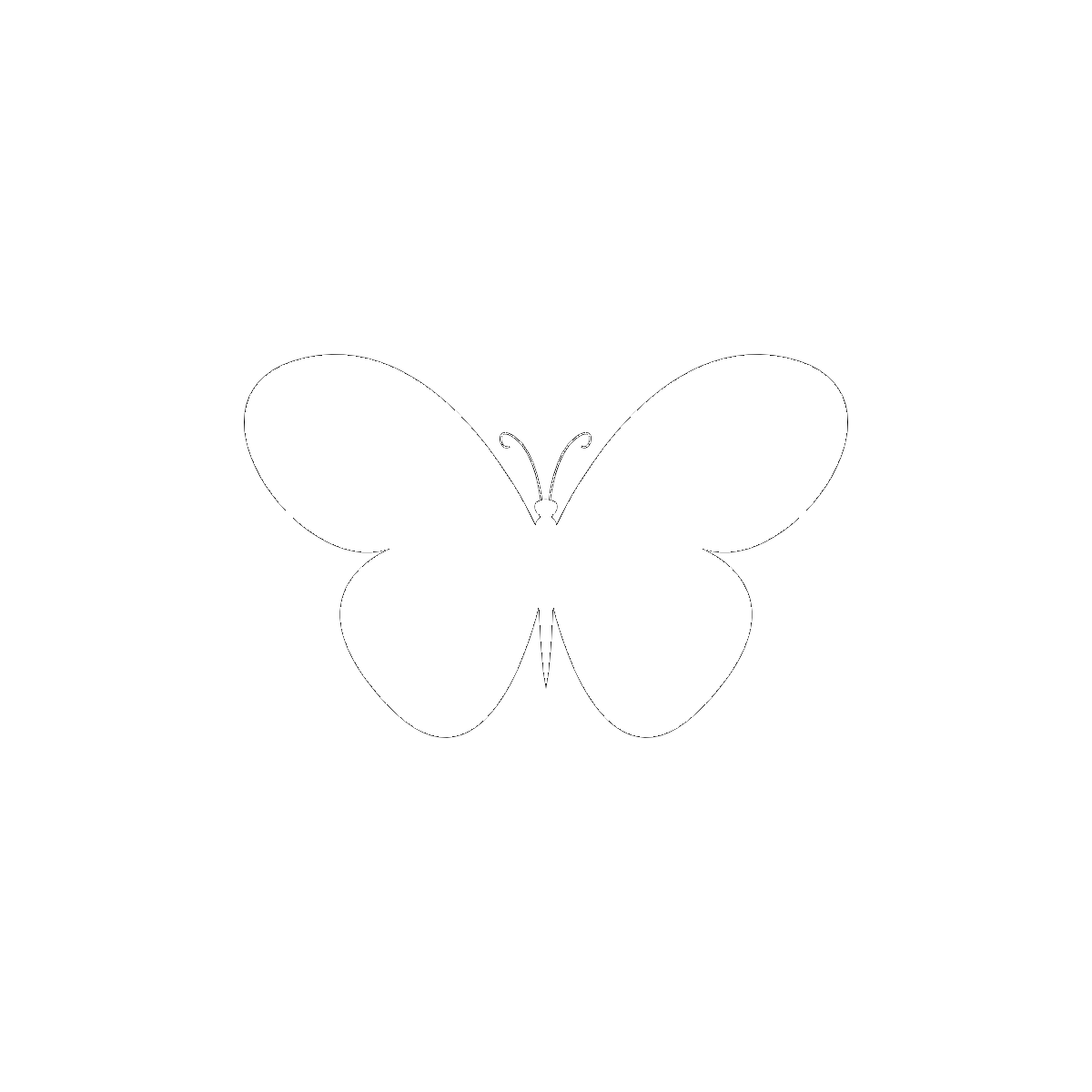 Symbol The Butterfly