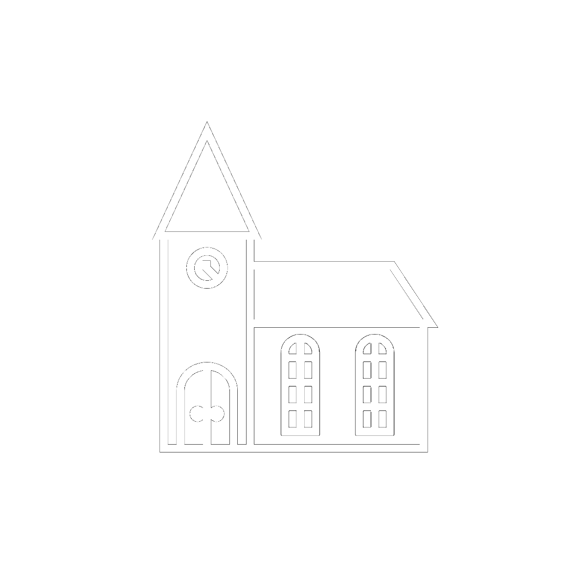 Symbol The Church, the School, and the Courtroom