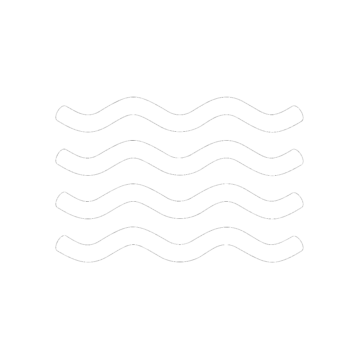 Symbol Water and Rivers